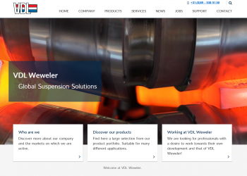 VDL Weweler launches new website!